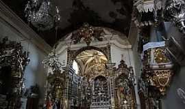 São João Del Rei - São João Del Rei-MG-Interior da Vasílica N.Sra.do Pilar-Foto:Paulo Yuji Takarada