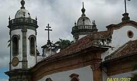 São João Del Rei - São João Del Rey-MG-Vista posterior da Igreja de São Francisco-Foto:Josue Marinho