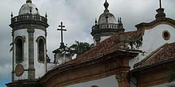 São João Del Rey-MG-Vista posterior da Igreja de São Francisco-Foto:Josue Marinho