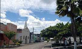 Banco Central - Banco Central-BA-Igreja e a pra�a central-Foto:nossailheus.org.br