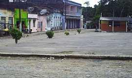 Banco Central - Banco Central-BA-Pra�a no centro-Foto:Gabriel Nascimento