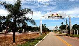 São Joaquim de Bicas - Portal de entrada da cidade de São Joaquim de Bicas