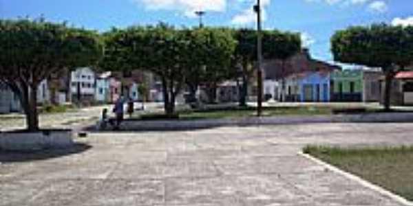 Praça Guilherme Xavier em Banco da Vitória-BA-Foto:Guabiru
