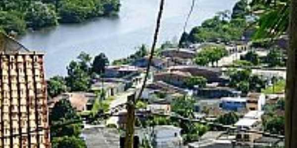 Vista parcial da cidade de Banco da Vitória-BA-Foto:Guabiru