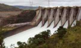 São José da Barra - Comportas da Usina hidroeletrica de Furnas, Por Krissia de Souza Barbosa