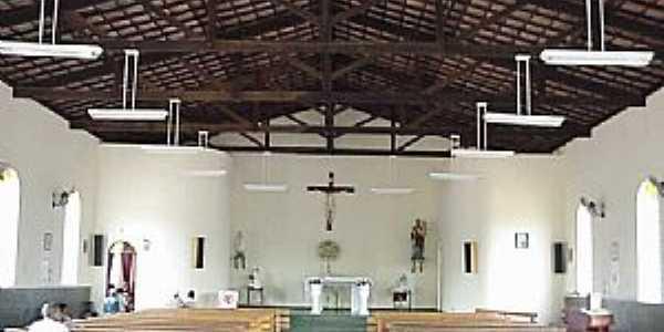 São José da Safira-MG-Interior da Matriz de São José-Foto:www.asminasgerais.com.br