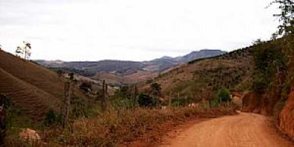 São José do Batatal-MG-Estrada de terra na região-Foto:edo