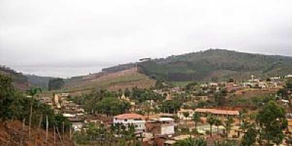 São José do Batatal-MG-Vista parcial da cidade e região-Foto:Eduardo S. Reis