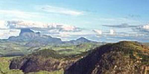 Vista da Pedra Riscada-Foto:Luciano Correa Tijo�