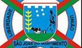 São José do Mantimento - Brasão de São José do Mantimento-MG