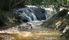 São José dos Lopes - Cachoeira Córrego da Barra em São José dos Lopes-Foto:Marcio Lucinda