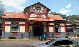 São Lourenço - São Lourenço-MG-Estação Ferroviária-Foto:Josue Marinho