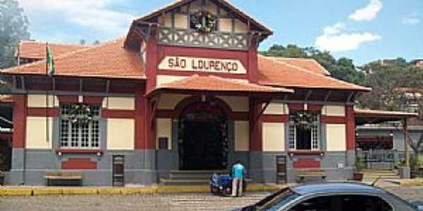 São Lourenço-MG-Estação Ferroviária-Foto:Josue Marinho