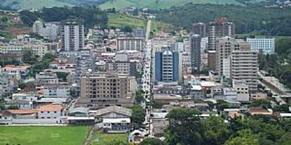 São Lourenço-MG-Vista aérea da cidade-Foto:Josue Marinho