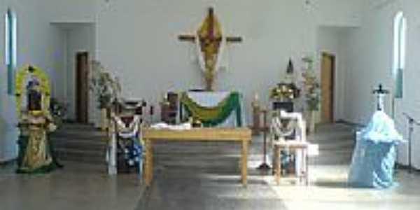 Interior da Igreja de Sant´Ana em São Pedro da Garça-Foto:DÊ #33#