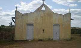Bandiaçu - Bandiaçu-BA-Igreja no Povoado de Morros-Foto:Joquinha Bandiaçu