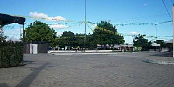 Bandiaçu-BA-Praça central-Foto:Joquinha Bandiaçu