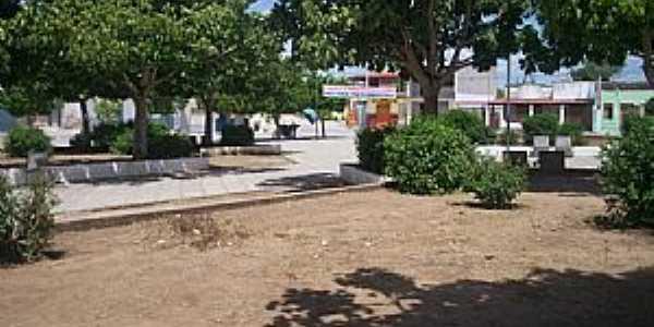 Bandiaçu-BA-Praça da Matriz-Foto:Joquinha Bandiaçu