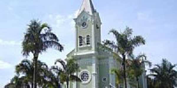 Matris de São Sebastião em São Sebastião da Bela Vista-Foto:Vicente A. Queiroz