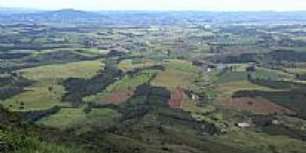 Vista panorâmica em São Sebastião da Bela Vista-Foto:Alvaro Lacerda