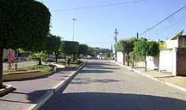 Banzaê - Banzaê-BA-Avenida central-Foto:Gláucio Almeida