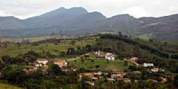Vista da cidade de São Sebastião do Bonsucesso-Foto:Alessandro Borsagli