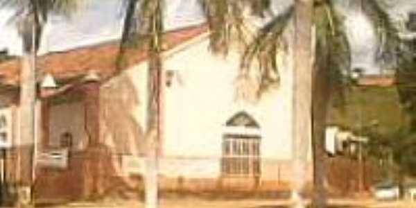 São Sebastião do Bugre-MG-Igreja Católica-Foto:gilbertovs