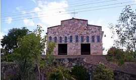 Baraúnas - Baraúnas-BA-Igreja do Povoado-Foto:Geraldo Pereira