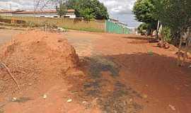 Baraúnas - Baraúnas-BA-Rua do Povoado-Foto:Lay Amorim/Brumado Notícias