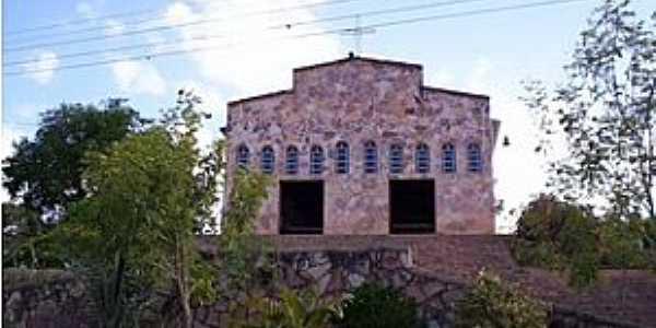 Baraúnas-BA-Igreja do Povoado-Foto:Geraldo Pereira