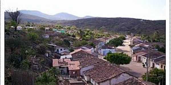 Bara�nas-BA-Vista do Povoado-Foto:Geraldo Pereira