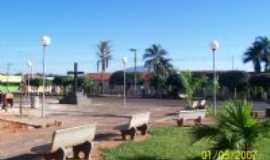 São Sebastião do Pontal - praça de sao sebastiao do pontal, Por amilton