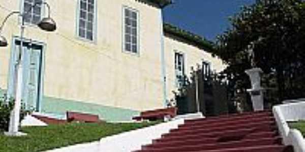 Igreja Matriz de Bom Jesus - escadaria lateral