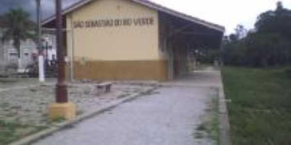 Estação Ferroviaria reformada, Por Adriana F.G.
