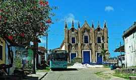 Barcelos do Sul - Barcelos do Sul-BA-Igreja de N.Sra.das Candeias-Foto:vanezacomz.blogspot.
