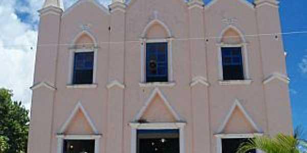 Barcelos do Sul-BA-Igreja de N.Sra.das Candeias-Foto:camamunoticias.com