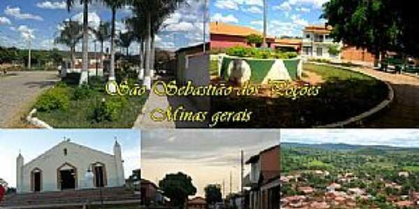 Imagens da localidade de São Sebastião dos Poções - MG Distrito de Montalvânia - MG