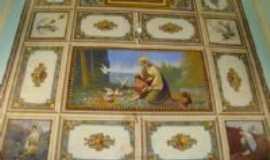 S�o Tom�s de Aquino - Pinturas do Teto da igreja, Por Luiz Carlos Martins da Silva