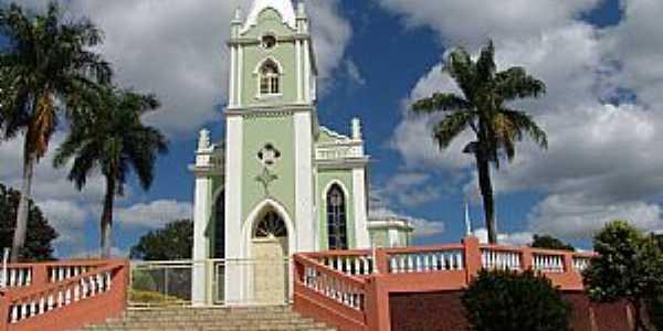 São Vicente de Minas-MG-Igreja de São Vicente de Paula-Foto:Geraldo Salomão