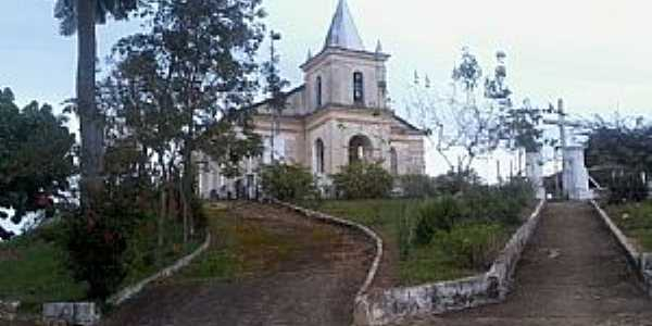 Sarandira-MG-Praça e Igreja de N.Sra.do Livramento-Foto:Raymundo P Netto