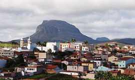 Barra da Estiva - Barra da Estiva-BA-Vista da cidade e o Morro do Ouro-Foto:Wilker Porto
