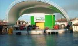 Barra da Estiva - Palco de eventos., Por Florisvaldo