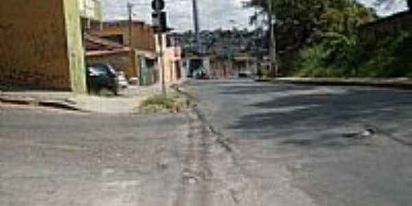 Saudade-MG-Rua Taquaril esquina com Rua Coração de Jesus-Foto:brenofabio
