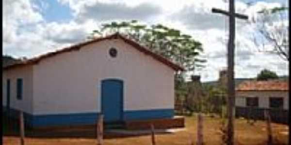 Capela de São Vicente de Paulo na Comunidade do Béia em Senador Modestino Gonçalves-MG-Foto:Edson Ramos Rodrigues