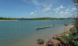 Barra do Jacuípe - Barra do Jacuipe-BA-Orla do rio Jacuípe-Foto:Peterson Cunha