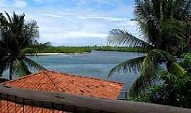Barra do Jacuípe - Barra do Jacuipe-BA-Vista do Rio Jacuípe-Foto:Raul Di Lollo