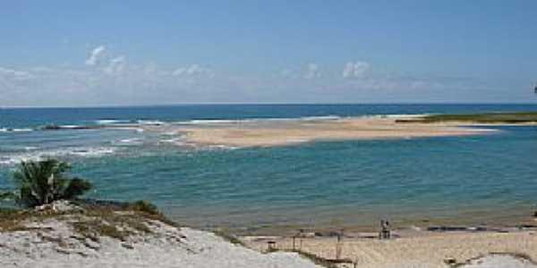 Barra do Jacuipe-BA-Banco de areia-Foto:July