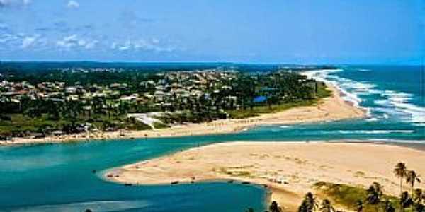 Imagens da localidade de Barra do Jacuípe- BA