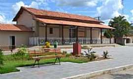 Serra da Saudade - Estação Ferroviária restaurada em Serra da Saudade-MG-Foto:Adriana de Oliveira