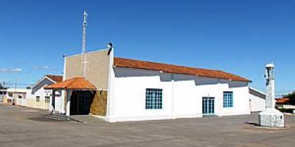 Serra do Salitre-MG-Igreja em Serra do Salitre-Foto:sebastiao tiao